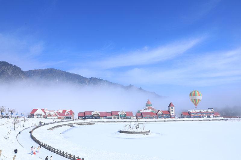 资中国际商贸城冰雕展
