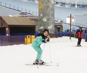 室内滑雪项目