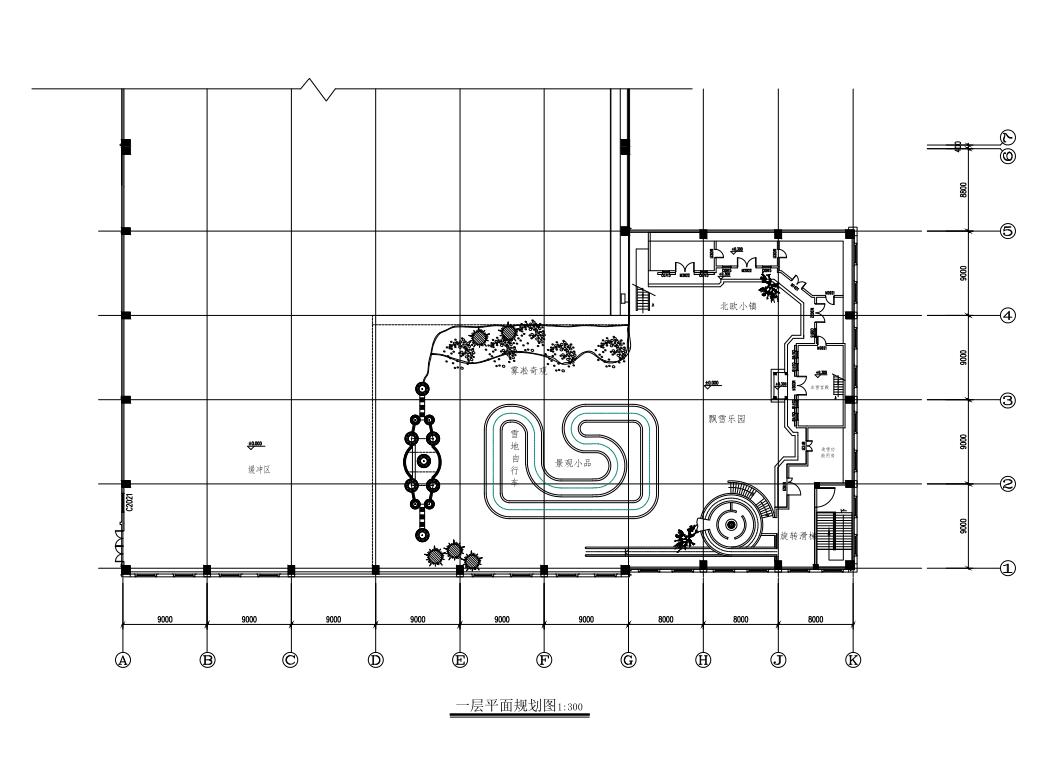 13000平冰雪规划设计图