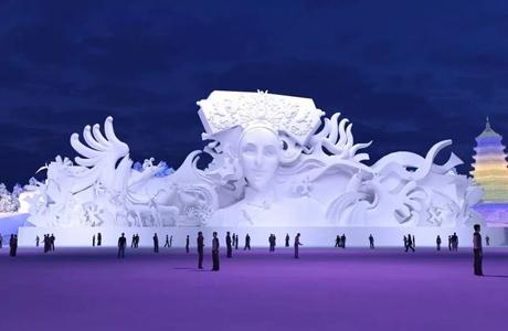 黑龙江明度冰雕