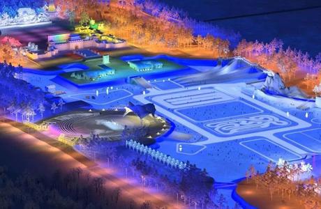 吉林冰雪室外乐园