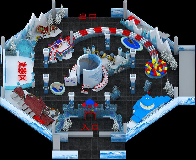 广州冰雕城堡规划设计